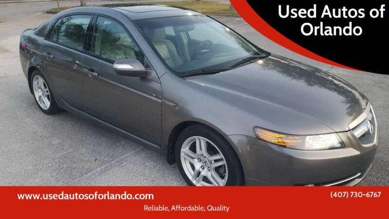 2007 Acura TL for sale at Used Autos of Orlando in Orlando FL
