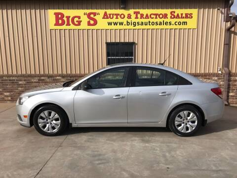 2014 Chevrolet Cruze for sale at BIG 'S' AUTO & TRACTOR SALES in Blanchard OK