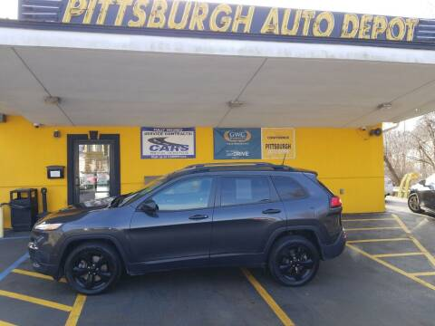 2017 Jeep Cherokee for sale at Pittsburgh Auto Depot in Pittsburgh PA