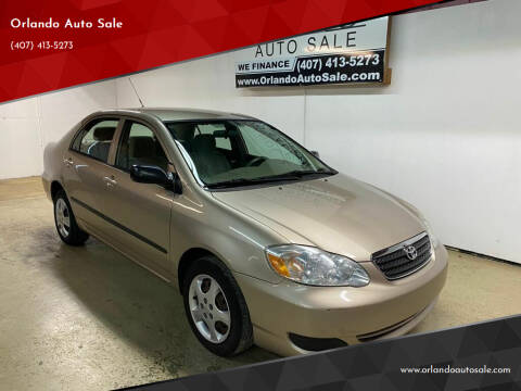 2005 Toyota Corolla for sale at Orlando Auto Sale in Orlando FL