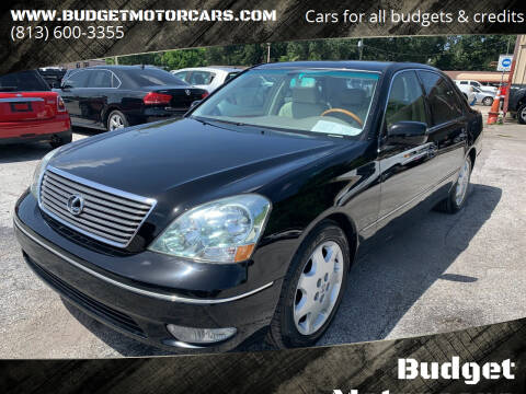 2001 Lexus LS 430 for sale at Budget Motorcars in Tampa FL