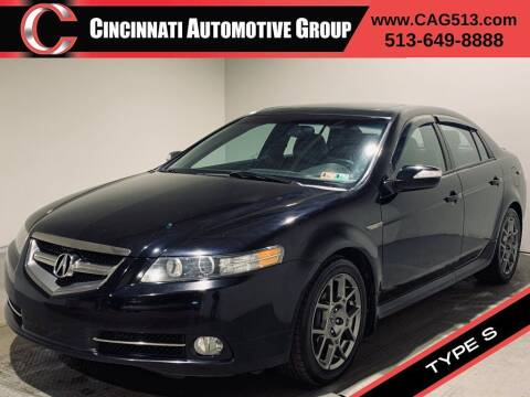 2008 Acura TL for sale at Cincinnati Automotive Group in Lebanon OH