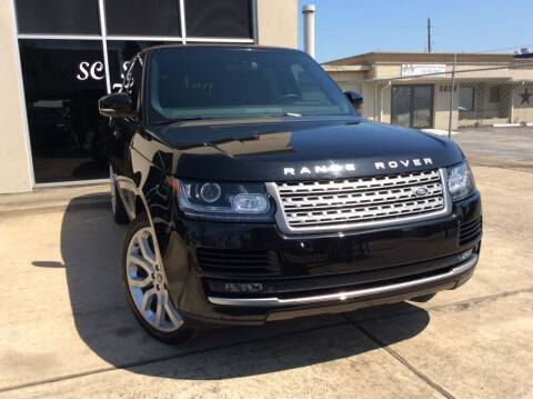 2014 Land Rover Range Rover for sale at SC SALES INC in Houston TX