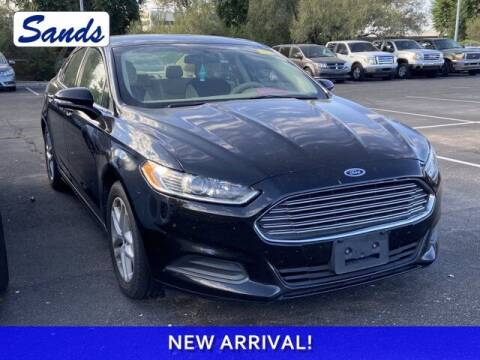 2016 Ford Fusion for sale at Sands Chevrolet in Surprise AZ