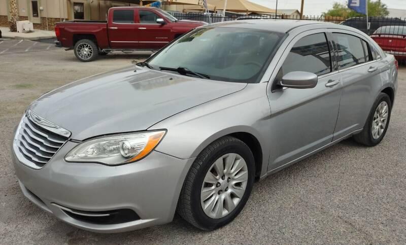 2014 Chrysler 200 for sale at 4 U MOTORS in El Paso TX