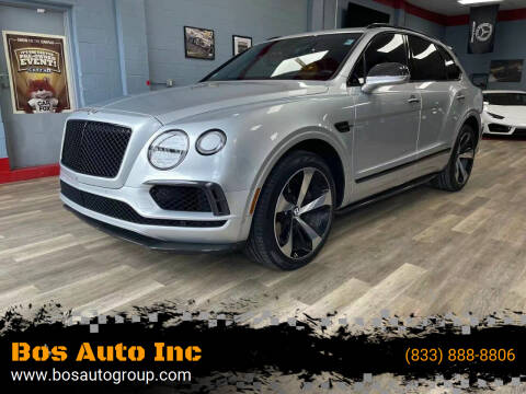 2019 Bentley Bentayga for sale at Bos Auto Inc in Quincy MA