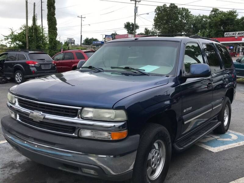 2003 Chevrolet Tahoe for sale at Mitchell Motor Company in Madison TN