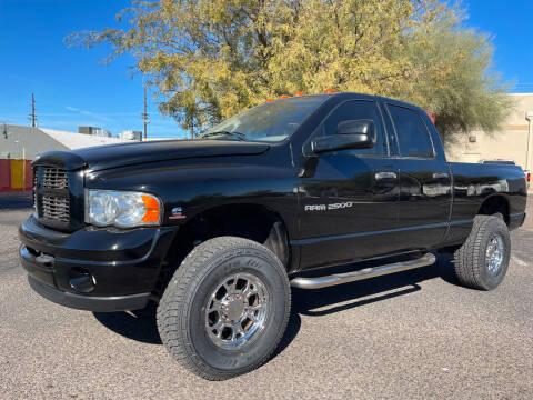 2003 Dodge Ram Pickup 2500 for sale at Tucson Auto Sales in Tucson AZ