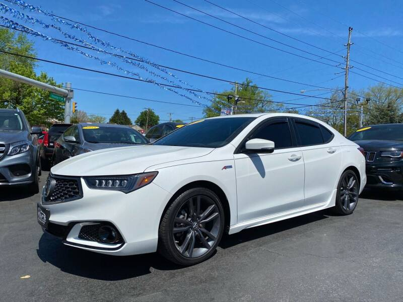 2020 Acura TLX for sale at WOLF'S ELITE AUTOS in Wilmington DE
