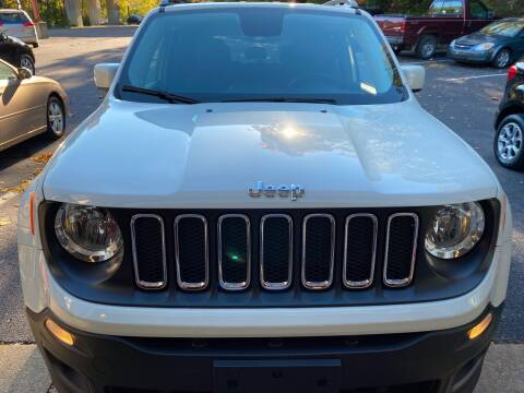 2017 Jeep Renegade for sale at WHARTON'S AUTO SVC & USED CARS in Wheeling WV