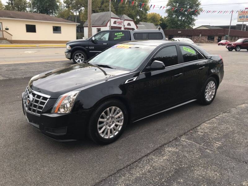2012 Cadillac CTS for sale at PEKIN DOWNTOWN AUTO SALES in Pekin IL