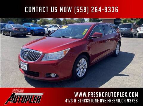 2013 Buick LaCrosse for sale at Carros Usados Fresno in Fresno CA