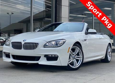 2015 BMW 6 Series for sale at Carmel Motors in Indianapolis IN