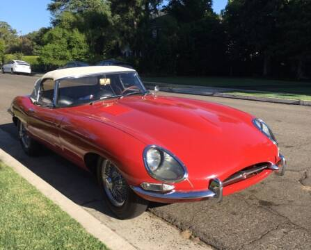 1962 Jaguar E-Type for sale at Gullwing Motor Cars Inc in Astoria NY