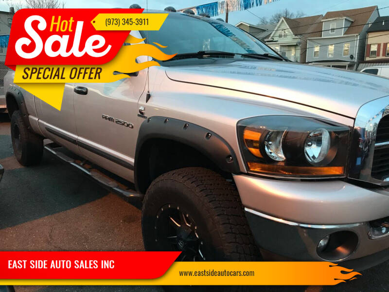 2006 Dodge Ram Pickup 2500 for sale at EAST SIDE AUTO SALES INC in Paterson NJ