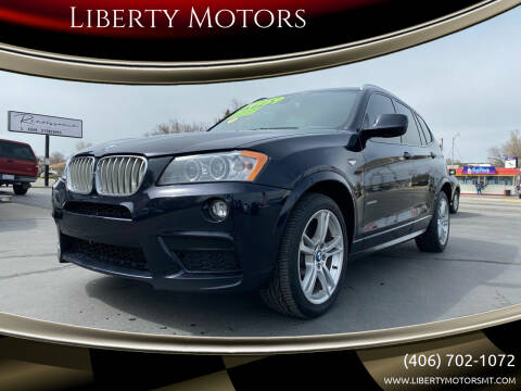 2013 BMW X3 for sale at Liberty Motors in Billings MT