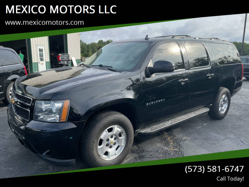 2013 Chevrolet Suburban for sale at MEXICO MOTORS LLC in Mexico MO
