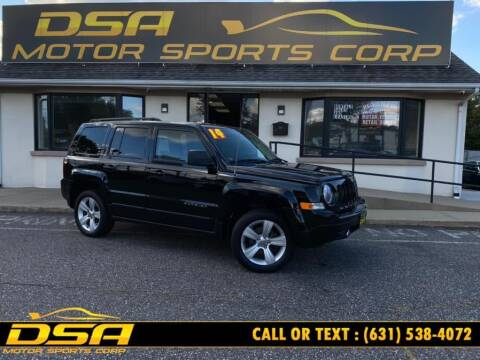 2014 Jeep Patriot for sale at DSA Motor Sports Corp in Commack NY