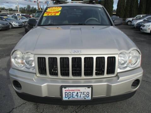2007 Jeep Grand Cherokee for sale at GMA Of Everett in Everett WA