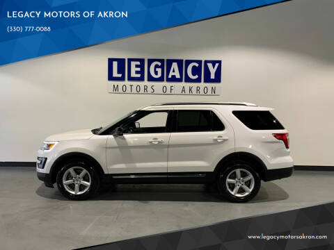 2016 Ford Explorer for sale at LEGACY MOTORS OF AKRON in Akron OH