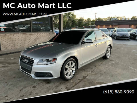 2010 Audi A4 for sale at MC Auto Mart LLC in Hermitage TN