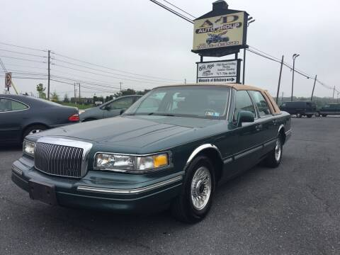 1996 Lincoln Town Car for sale at A & D Auto Group LLC in Carlisle PA