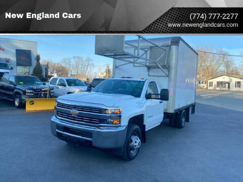 2015 Chevrolet Silverado 3500HD for sale at New England Cars in Attleboro MA