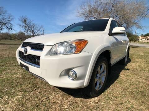 2009 Toyota RAV4 for sale at Carz Of Texas Auto Sales in San Antonio TX