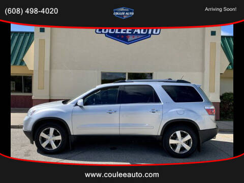 2012 GMC Acadia for sale at Coulee Auto in La Crosse WI