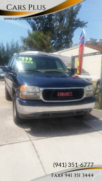 2000 GMC Yukon for sale at Cars Plus in Sarasota FL