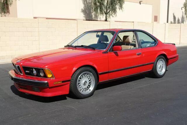 1988 BMW M6 7