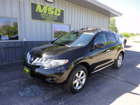 2010 Nissan Murano for sale at Moss Service Center-MSC Auto Outlet in West Union IA