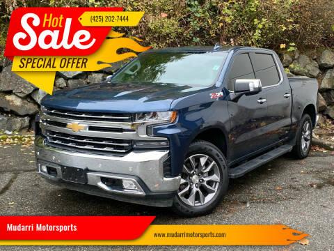2019 Chevrolet Silverado 1500 for sale at Mudarri Motorsports in Kirkland WA