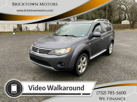 2009 Mitsubishi Outlander for sale at Bricktown Motors in Brick NJ
