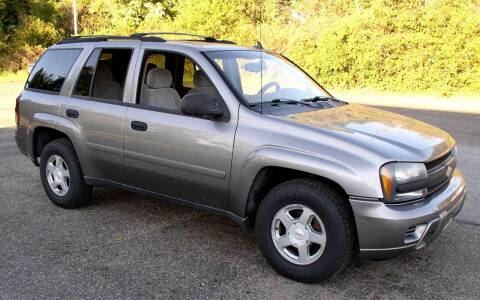 2006 Chevrolet TrailBlazer for sale at Angelo's Auto Sales in Lowellville OH