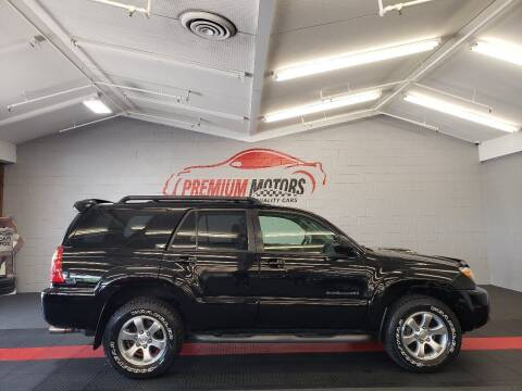 2008 Toyota 4Runner for sale at Premium Motors in Villa Park IL