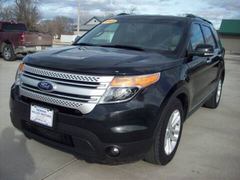 2013 Ford Explorer for sale at Nemaha Valley Motors in Seneca KS