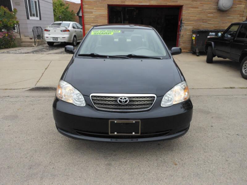 2008 Toyota Corolla for sale at Grand River Auto Sales in River Grove IL