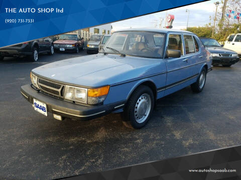 1985 Saab 900 for sale at THE AUTO SHOP ltd in Appleton WI
