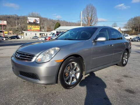 2006 Infiniti G35 for sale at MCMANUS AUTO SALES in Knoxville TN