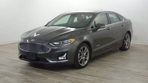 2019 Ford Fusion Hybrid for sale at TRAVERS GMT AUTO SALES - Traver GMT Auto Sales West in O Fallon MO