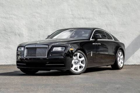 2016 Rolls-Royce Wraith for sale at Nuvo Trade in Newport Beach CA