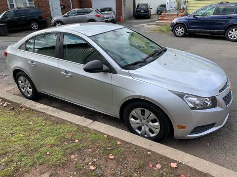 2012 Chevrolet Cruze for sale at UNION AUTO SALES in Vauxhall NJ