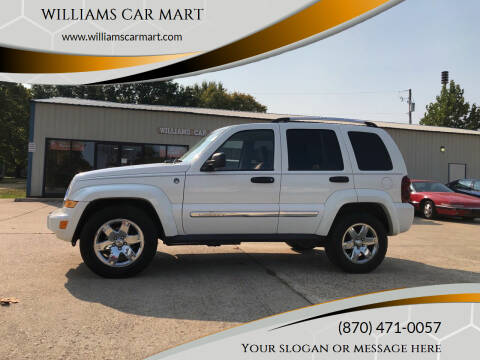 2005 Jeep Liberty for sale at WILLIAMS CAR MART in Gassville AR