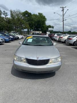 2002 Lincoln Continental for sale at Elite Motors in Knoxville TN