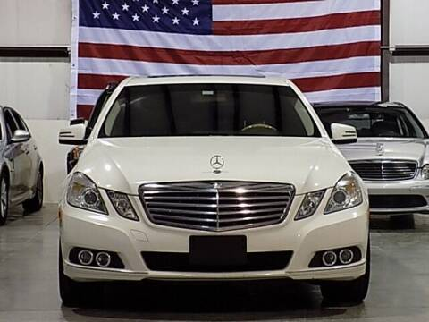 2011 Mercedes-Benz E-Class for sale at Texas Motor Sport in Houston TX
