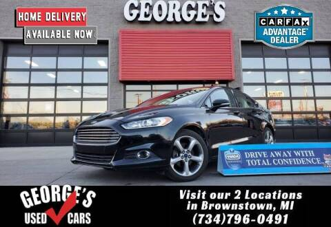 2013 Ford Fusion for sale at George's Used Cars - Pennsylvania & Allen in Brownstown MI