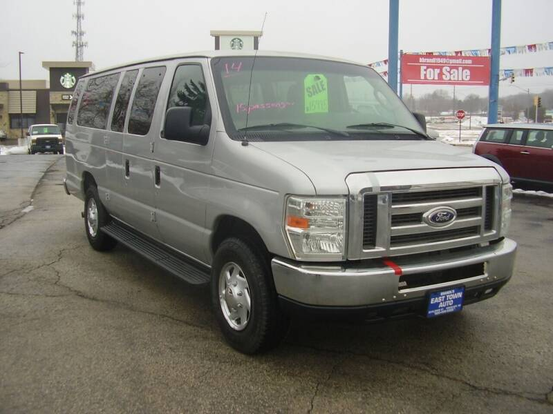 2014 Ford E-Series Wagon for sale at East Town Auto in Green Bay WI