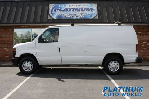 2008 Ford E-Series Cargo for sale at Platinum Auto World in Fredericksburg VA