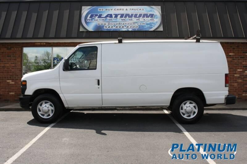 2008 Ford E-Series Cargo for sale at Platinum Auto World in Fredericksburg VA